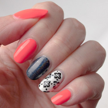 Accents reused3 neon coral black white instagram thumb370f