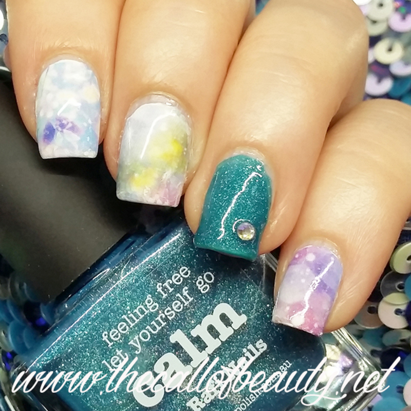 Galaxy Nails nail art by The Call of Beauty