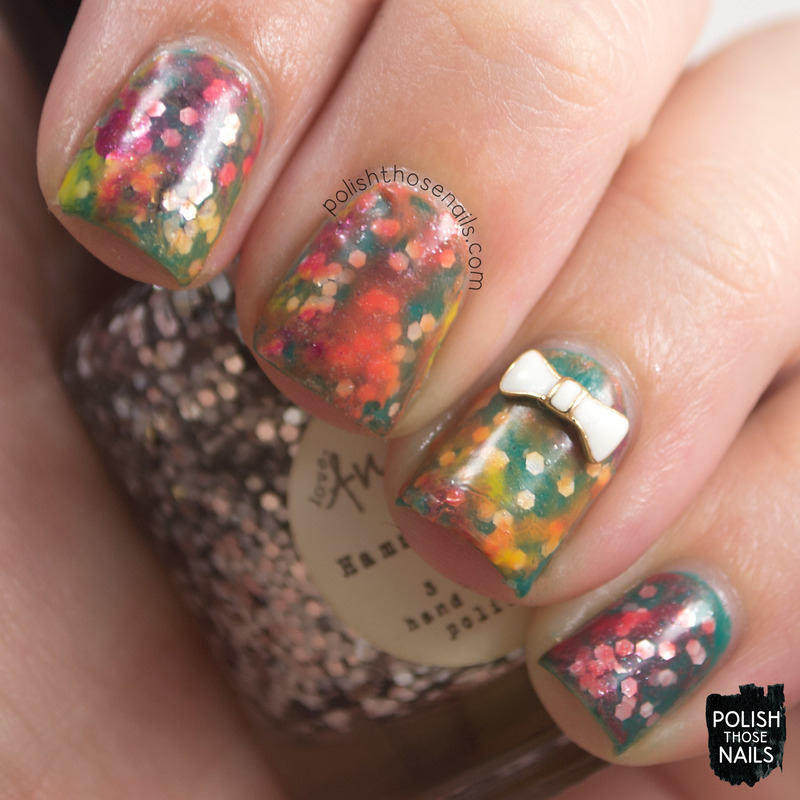 Hammer Color nail art by Marisa  Cavanaugh