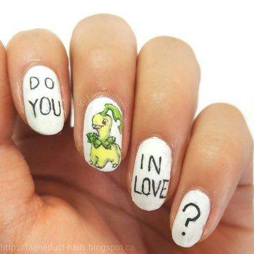 Bayleef Nails nail art by Shirley X.