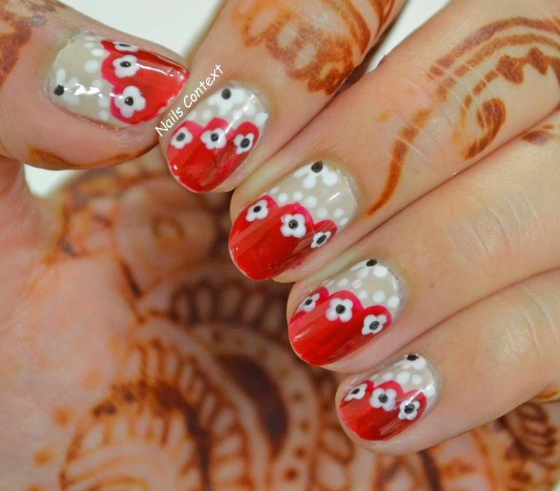 Ethnic Nails nail art by NailsContext