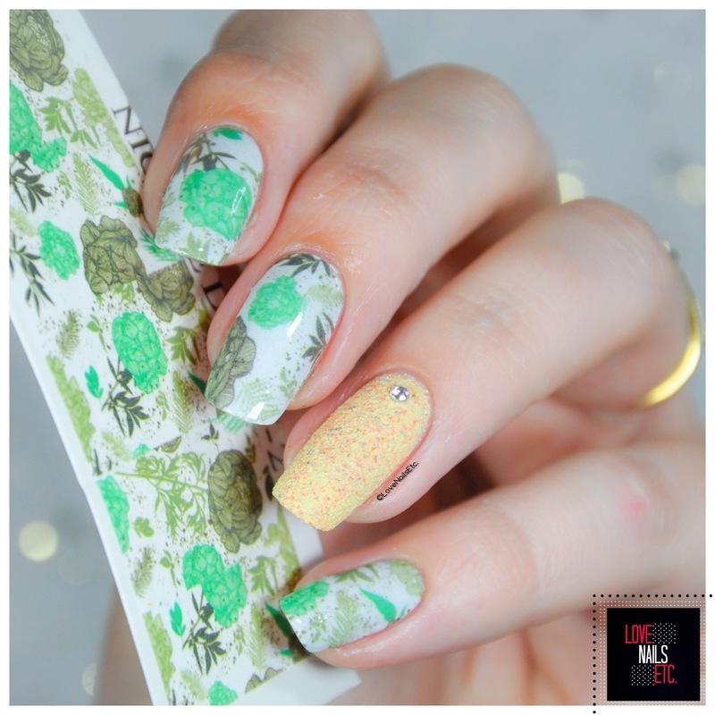 Secret Garden nail art by Love Nails Etc
