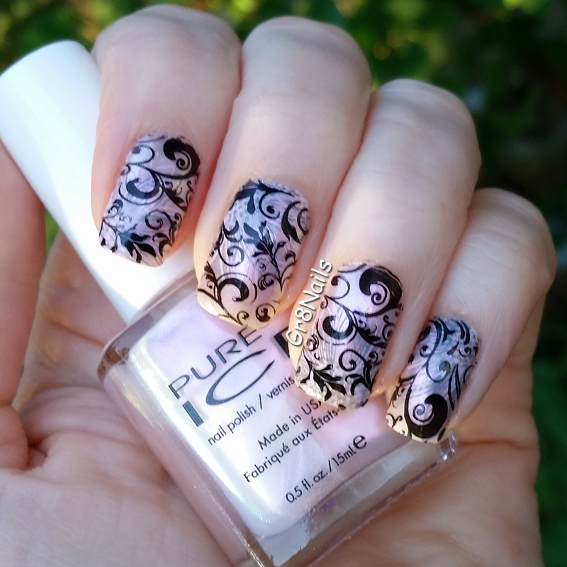 UberChic 1-02 nail art by Gr8Nails