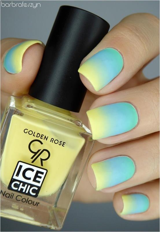 My perfect pastel gradient nail art by barbrafeszyn