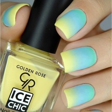 My perfect pastel gradient nail art by barbrafeszyn