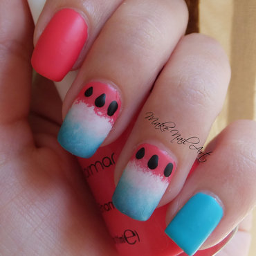 Easy 20and 20cute 20watermelon 20nails 20summer 20nail 20art 20design 20tutorial thumb370f