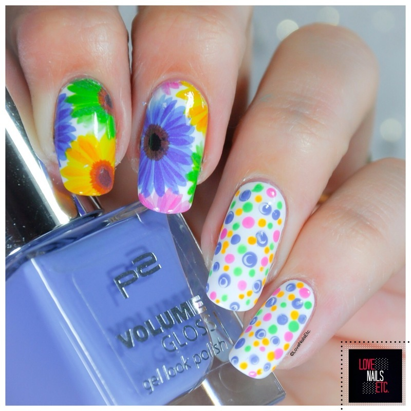 Flower Power! nail art by Love Nails Etc