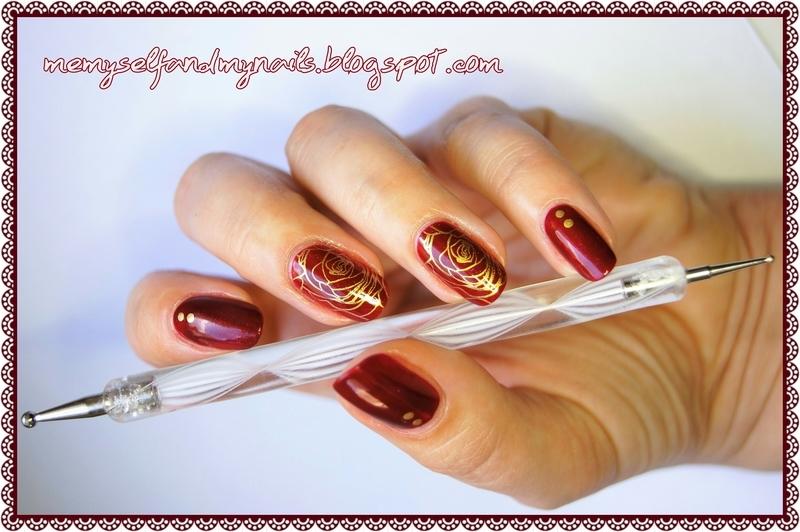 Classy nail art by ELIZA OK-W