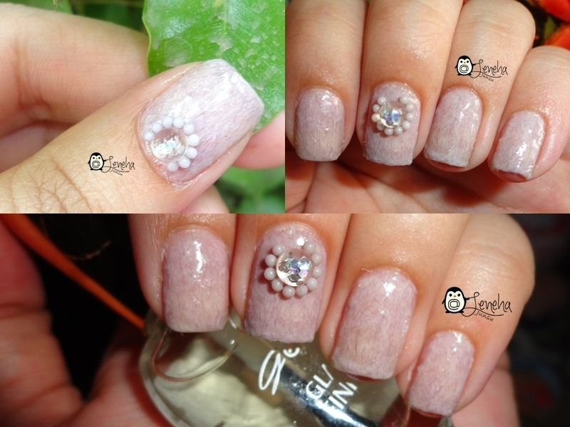 Fur Gel Nails nail art by Leneha Junsu
