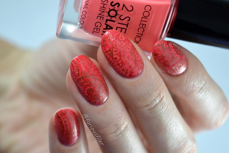 Mandala Nails  nail art by Furious Filer