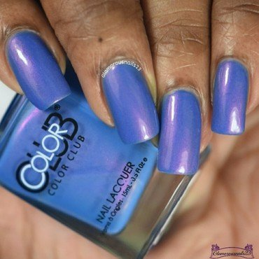 Color Club Bell Bottom Babe Swatch by glamorousnails23