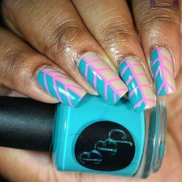 Leaf Nail Art nail art by glamorousnails23
