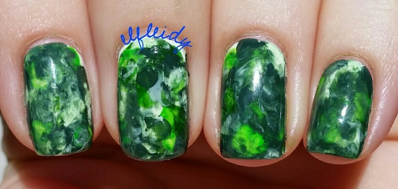 #smooshynailsunday 07-24-2016 nail art by Jenette Maitland-Tomblin