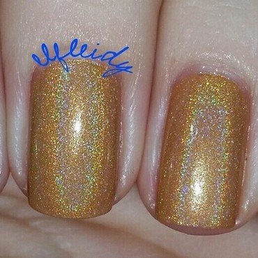 Cupcake Polish Instant Re-Leaf and Cupcake Polish Bloom Bloom Room Swatch by Jenette Maitland-Tomblin