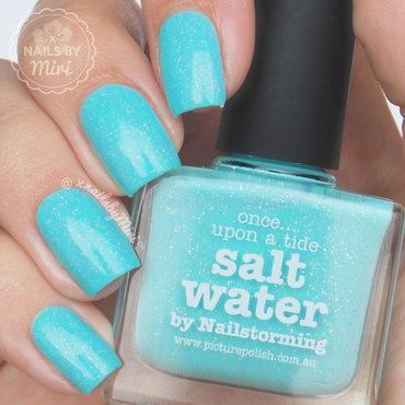 piCture pOlish Salt Water Swatch by xNailsByMiri