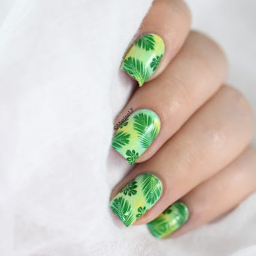 Jungle nail art 20 5  thumb370f