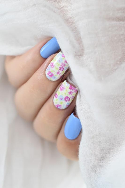 Liberty nail art by Marine Loves Polish