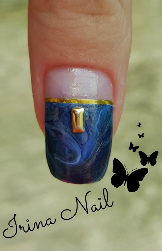 💅 Nail art in color combination | Irina Nail  nail art by Irina Nail