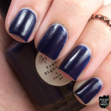 Love, Angeline Tomorrow Night's Sky Swatch by Marisa  Cavanaugh