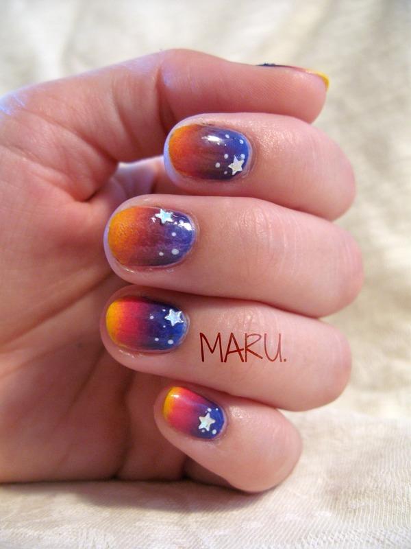 Twilight Nail Art By Martina Nailpolis Museum Of Nail Art