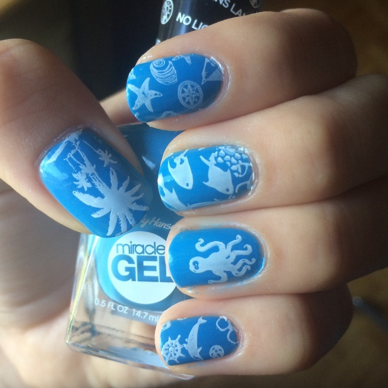 Ready to go diving! nail art by skier2201