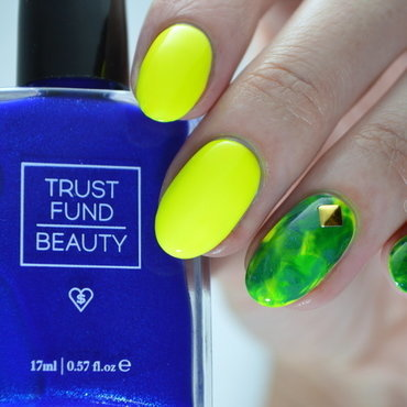 Bright Smooshy  nail art by Furious Filer