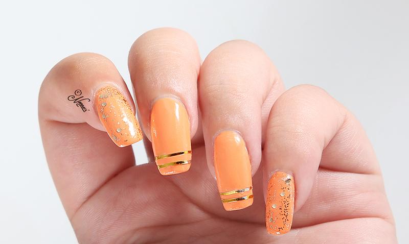 Mango <3 nail art by Nanneri