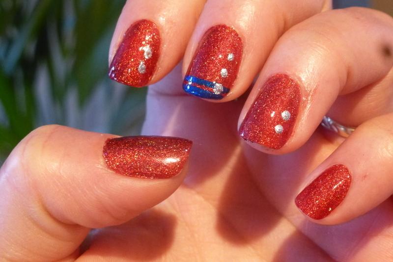 Bridget nail art by Barbouilleuse