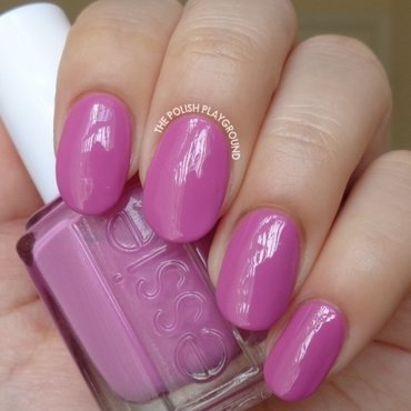 Essie Splash of Grenadine Swatch by Lisa N