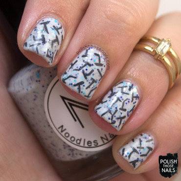 Light blue glitter nails nail art 4 thumb370f