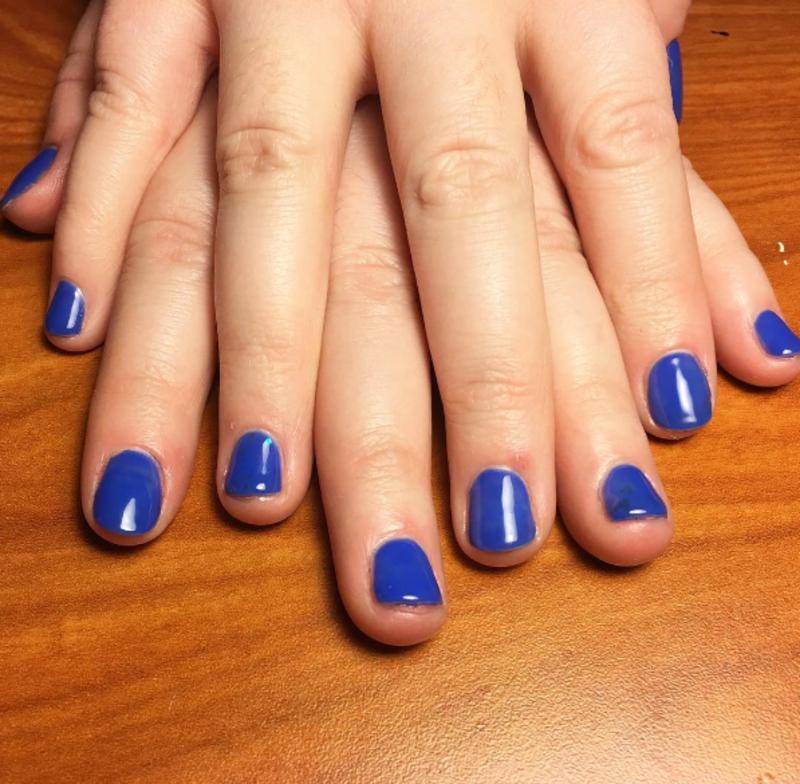 Anna's Nails nail art by Kristen Lovett
