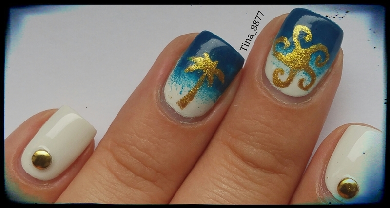 Summer Nails nail art by Tina_8877