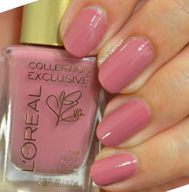 L'Oréal Eva's Pink Swatch by NailsContext