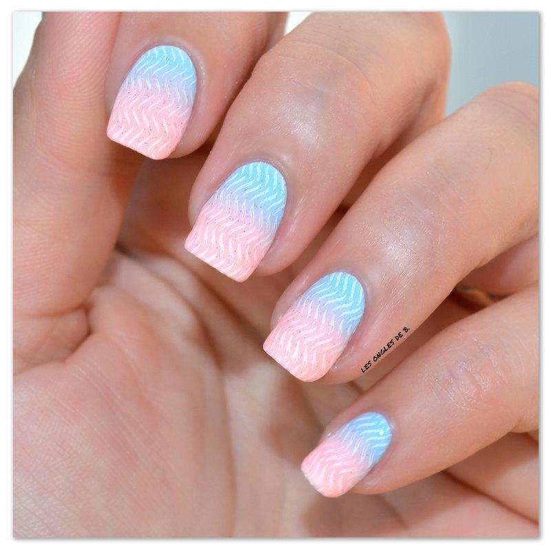 Pantone Color 2016 nail art by Les ongles de B.