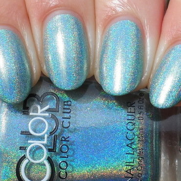 Color Club Angel Kiss Swatch by Plenty of Colors