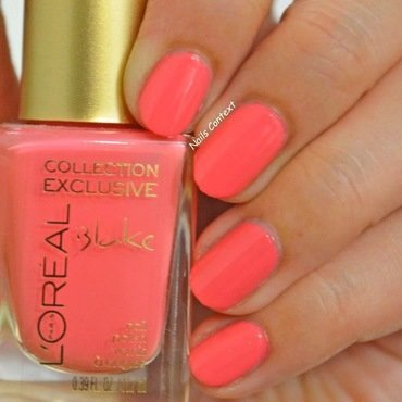 L'Oreal Blake's Pink Swatch by NailsContext