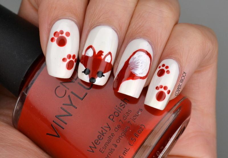 Fox Nail Art nail art by Jayne