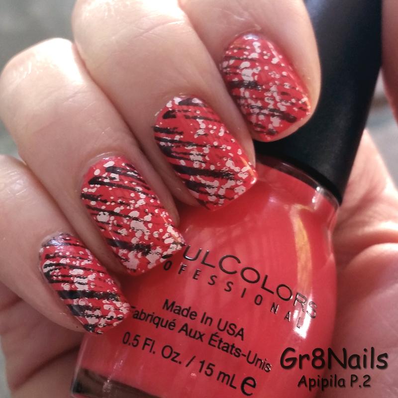 Apipila P.2 nail art by Gr8Nails