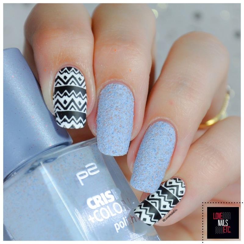 Tribal Nail Art nail art by Love Nails Etc