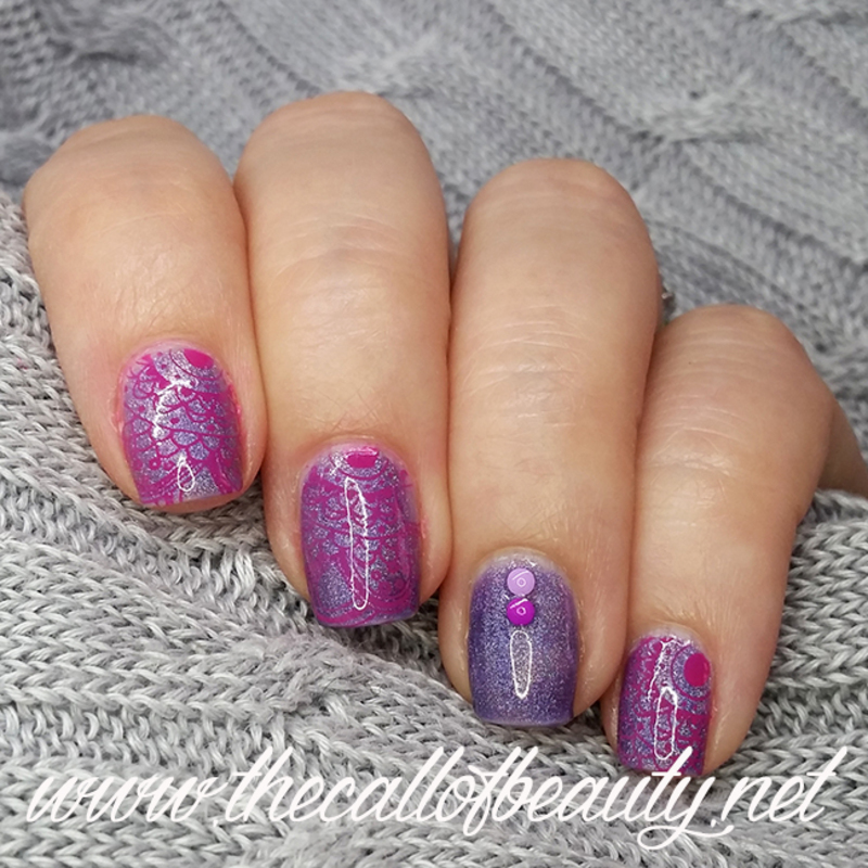 Oriental Manicure nail art by The Call of Beauty