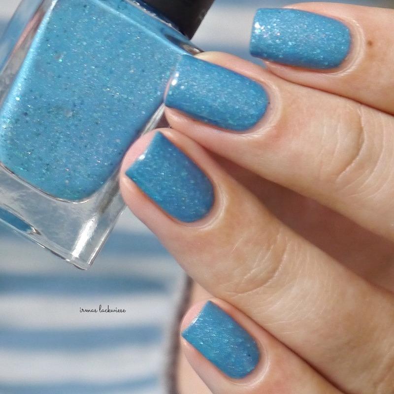 irmas blue butterfly Swatch by irma