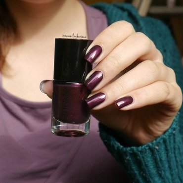 Catrice First Class Up-Grape Swatch by irma