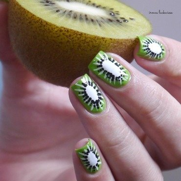 kiwi nails nail art by irma