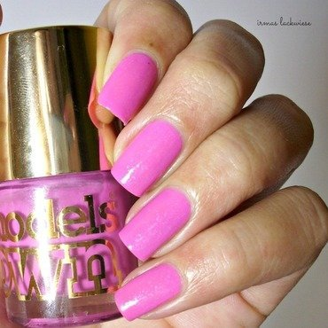 Models Own Radiant Pink Swatch by irma