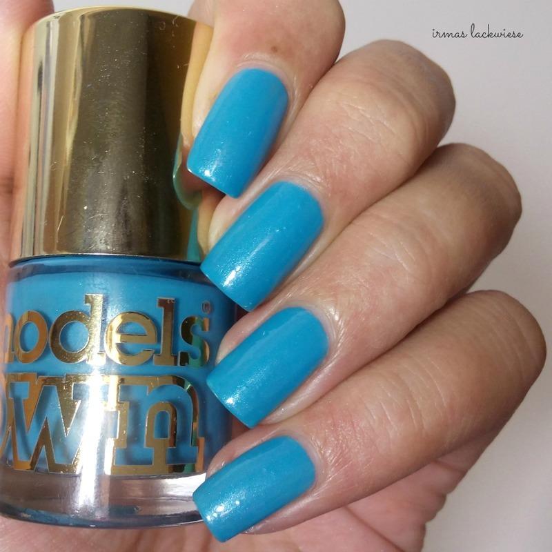 Models Own Asscher Blue Swatch by irma