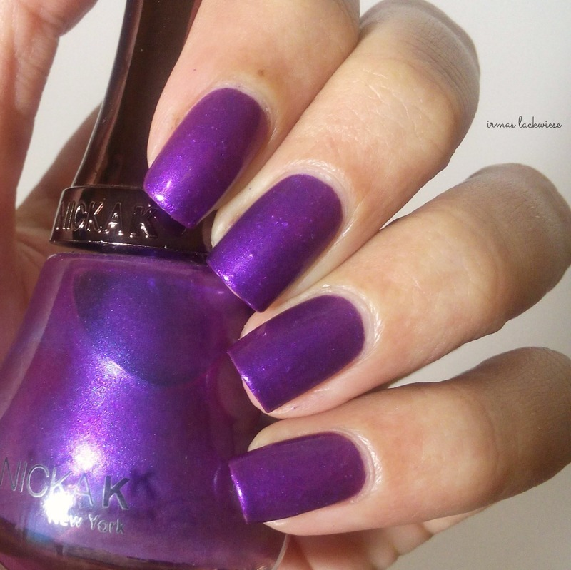 Nicka K Violet Swatch by irma - Nailpolis: Museum of Nail Art