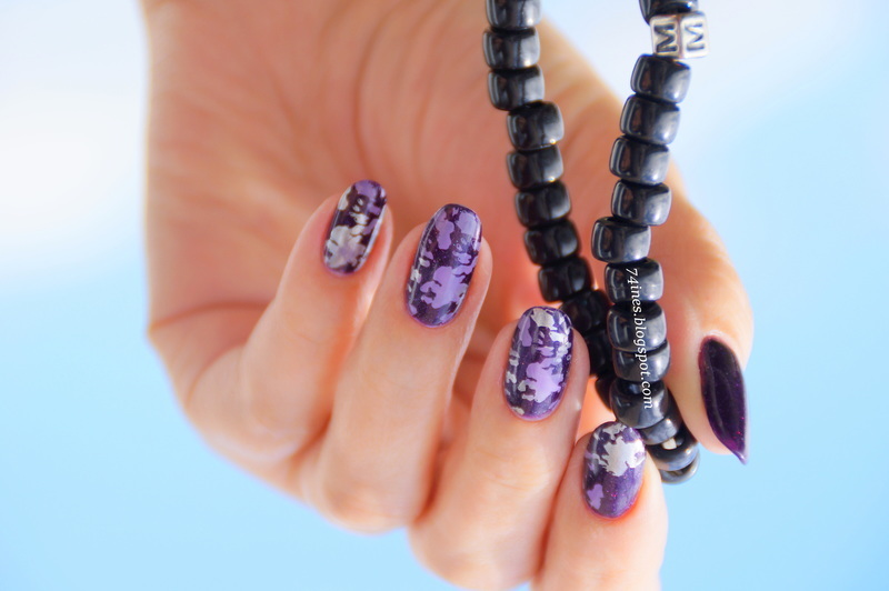 Wrong Side Of Heaven nail art by 74ines
