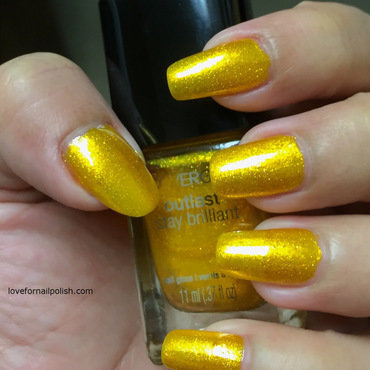 Covergirl Sulfur Blaze Swatch by Demi