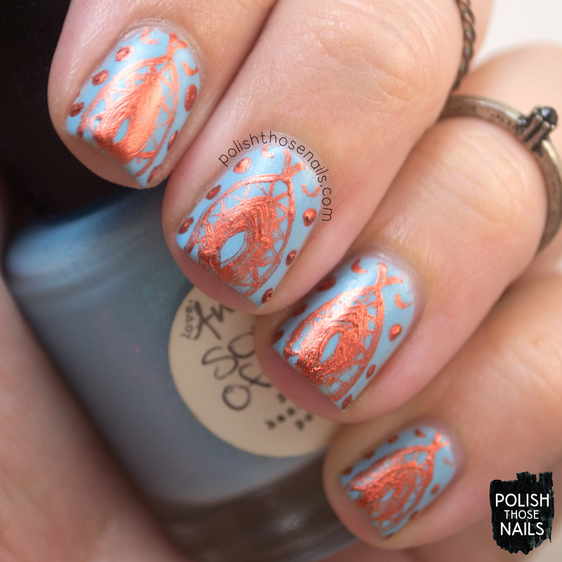 Sons Of Rust nail art by Marisa  Cavanaugh