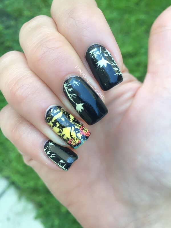 Asian inspired  nail art by Happy_aries
